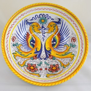 "BOWL ""RAFFAELLESCO""  FROM CM. 25"