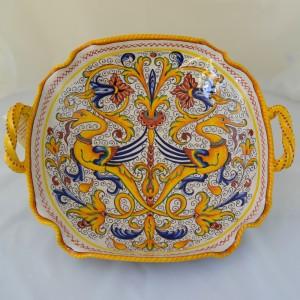Raffaellesco centerpiece with handles from 30 cm