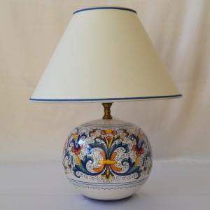 "LAMPADA A PALLA ""RICCO DERUTA"" DA CM 25"
