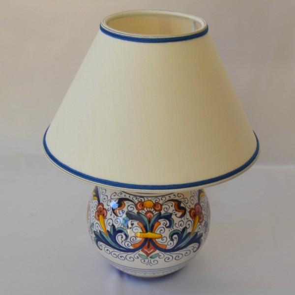"""LAMPADA A PALLA """"RICCO DERUTA"""" DA CM 15 - Maioliche Artemisia"""