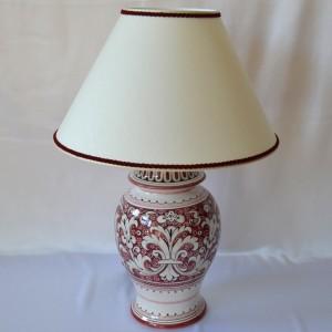 "LAMP  ""FONDO ROSSO ANTICO"" TO CM 20"