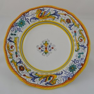 "TABLE FUND PLATE SIM  ""RAFFAELLESCO"" FROM CM 24"