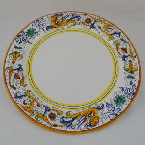 "TABLE PLATE UNDERDISH ""RAFFAELLESCO"" FROM CM 32"