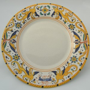 "TABLE SMALL PLATE ""RAFFAELLESCO ANTICO"" FROM CM 22"