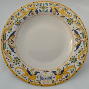 "TABLE FUND PLATE ""RAFFAELLESCO ANTICO"" FROM CM 24"