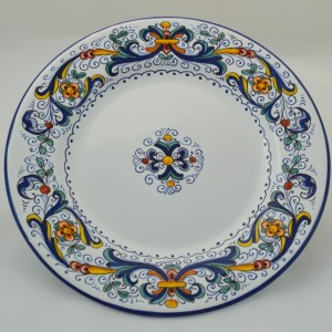 "TABLE FLAT PLATE ""RICCO DERUTA"" FROM CM 26"