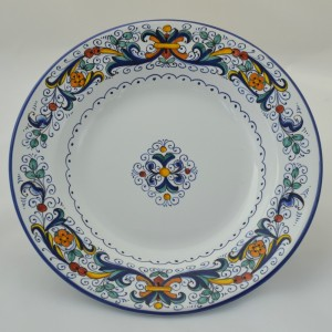 "TABLE FUND PLATE ""RICCO DERUTA"" FROM CM 24"