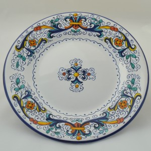 "TABLE SMALL PLATE ""RICCO DERUTA"" FROM CM 22"