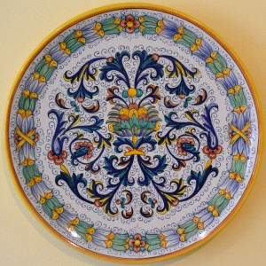 "PLATE  ""RICCO DERUTA""  FROM CM 45"