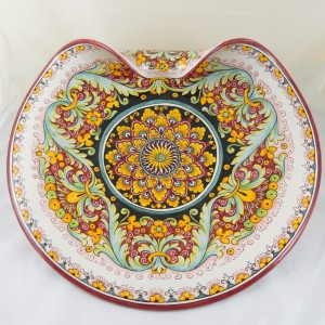 "CENTERPIECE WITH CURLY ""GIRALI FIORITI""  FROM CM. 50"